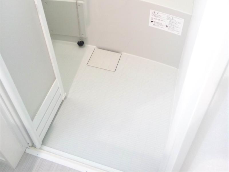 浴室のドア