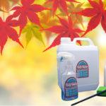 秋のカビ対策