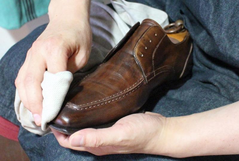 革靴_手入れ